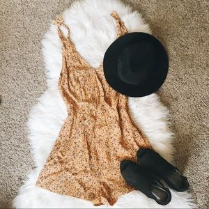 Urban Outfitters floral romper 🌻